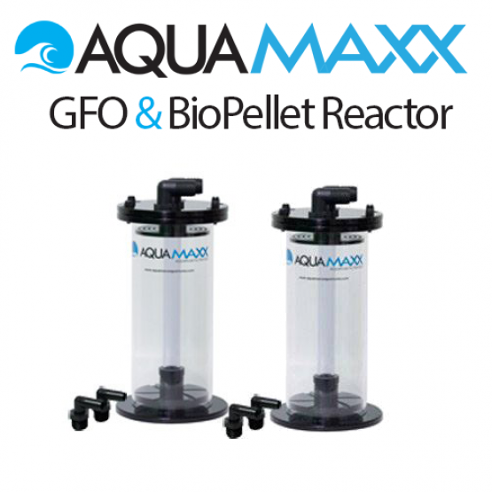 AquaMaxx STANDARD Bio Pellet and GFO/Carbon Reactor Package