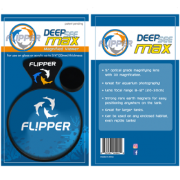 "Flipper DeepSee Magnetic Aquarium Viewer 5"" MAX"